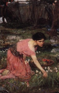 J.W. Waterhouse, 'Flora'