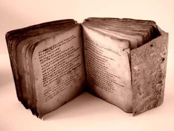 """Vėliausias archeologams žinomas """"Honorijaus knygos"""" egzempliorius, priklausęs Džonui Di."""